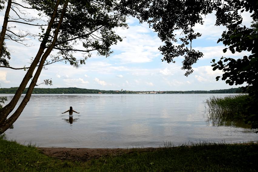 Badestelle Himmelswiese Ratzeburger See