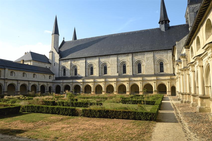 Loire Tal Abtei von Fontevraud