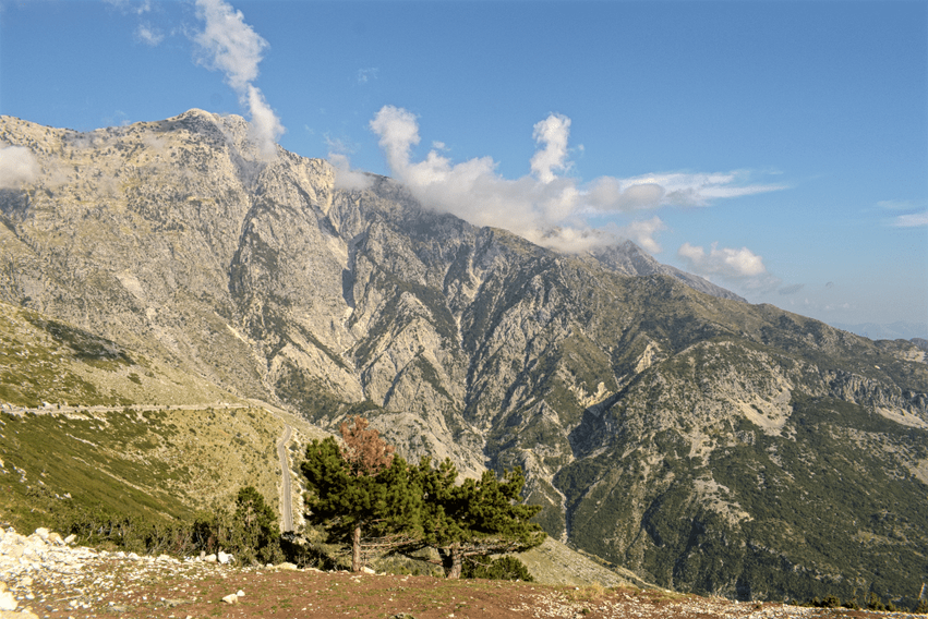 Albanien Llongara-Pass