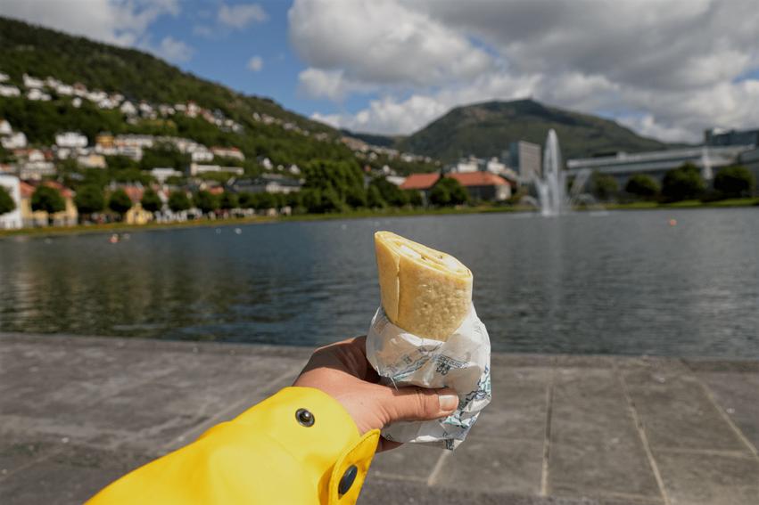 Fisch essen Bergen