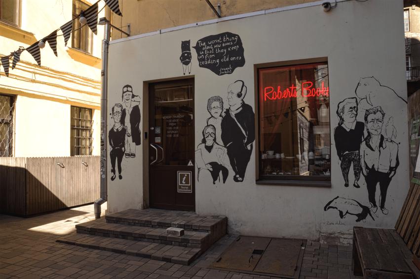Riga Café Tipp Roberts Books