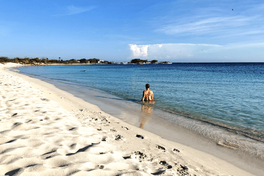 Aruba Strand Roger's Beacht