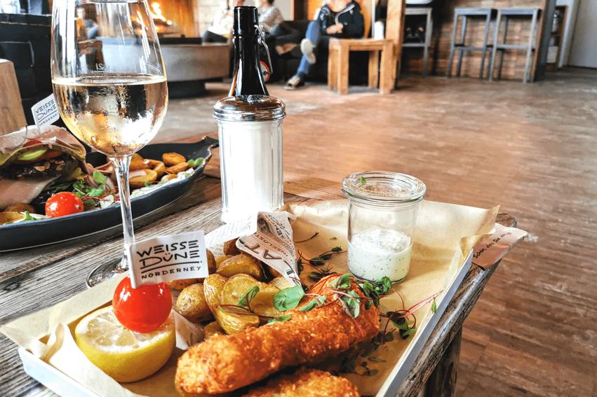 Norderney Tipps Restaurant Weiße Düne
