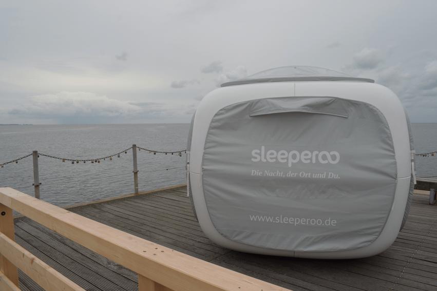 Sleeperoo: das Übernachtungserlebnis der besonderen Art