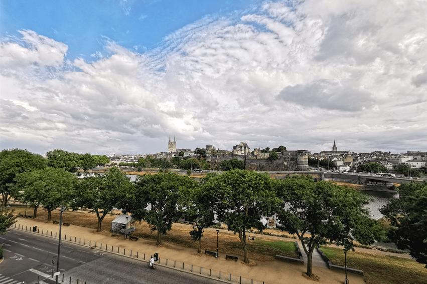 Loire Tal Angers Aussichtsplattform Le Quai