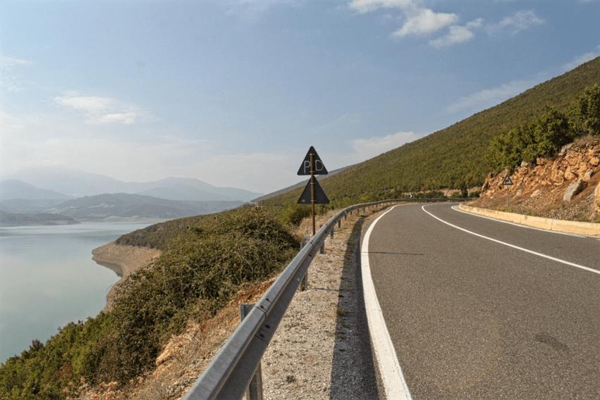 Roadtrip Albanien Strassenverhältnisse