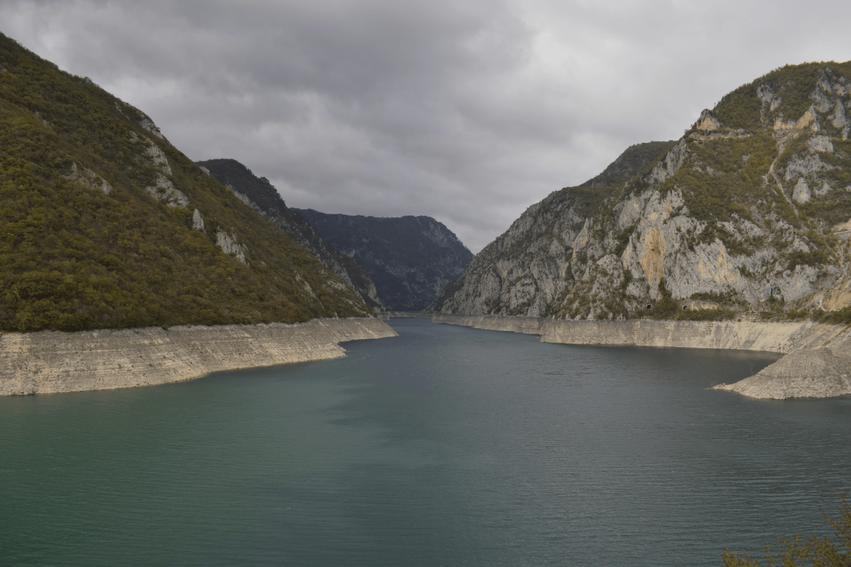 Rundreise Montenegro Piva Stausee
