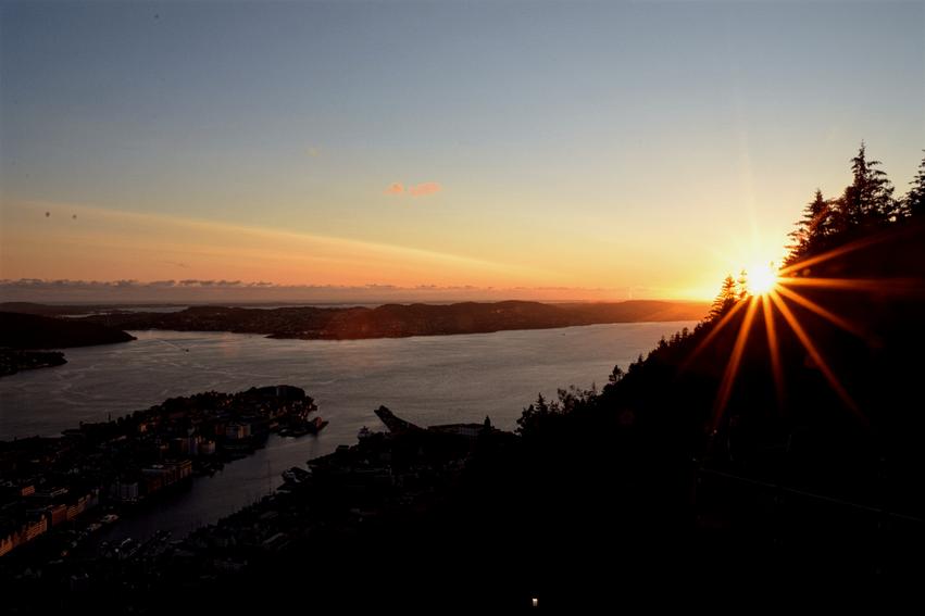 Aussichtsplattform Fløyen