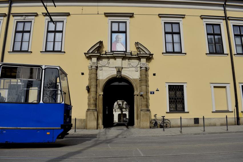 Papstfenster Krakau
