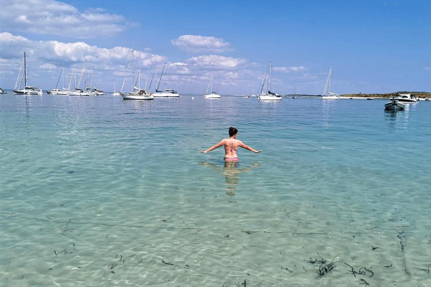 baden Glénan-Inseln