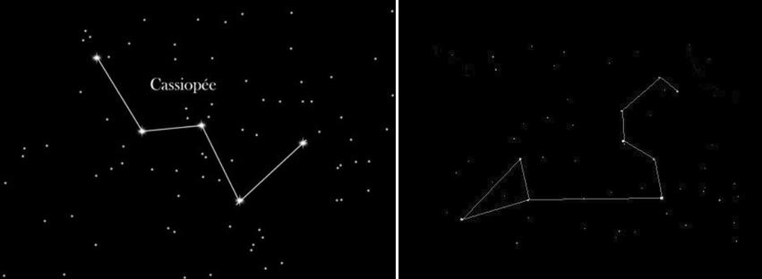 Constellation de Cassiopée et du Lion (Léonis)