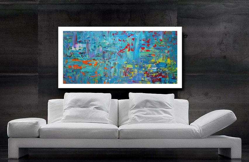 "Wandbild XXL ""Inspiration"" 100 x 60 cm"