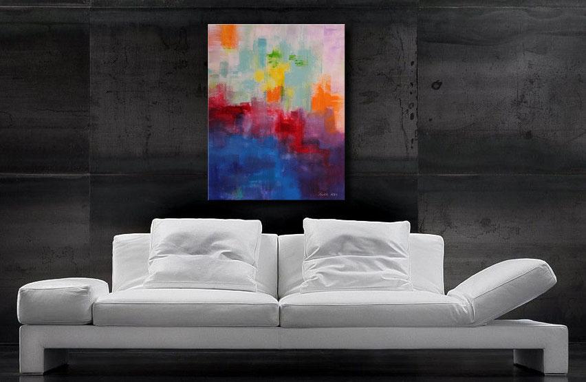 Gemälde kaufen-modern Art-Jens Burkhardt-Wandbilderkunst.de