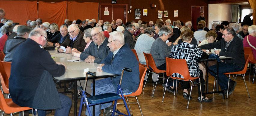 Quarante équipes pour le concours de belote du club le jeudi 15 novembre salle Ouessant