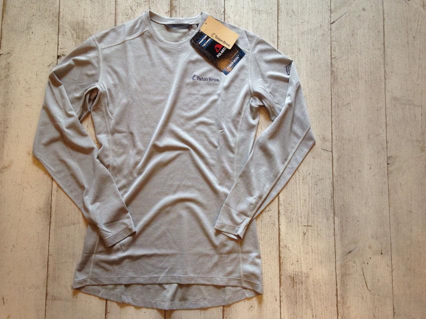 Teton Bros.(ティートンブロス) Power Wool Lite L/S ¥10,800(税込)
