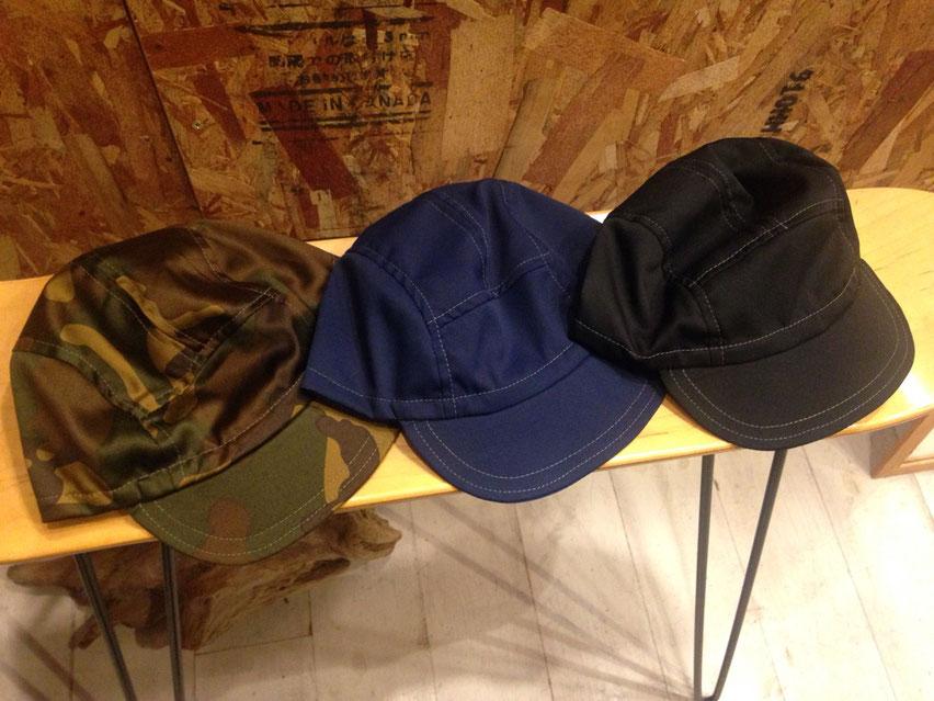 welldone JET CAP(オールコットン使用) 全3型 各¥4,104(税込)