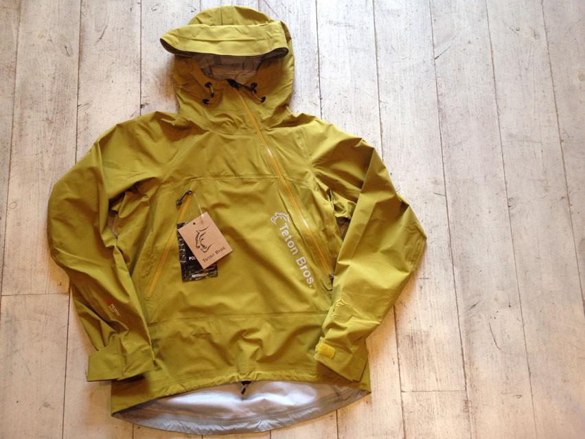 Teton Bros.(ティートンブロス) Tsurugi Jacket 各¥47,520(税込)