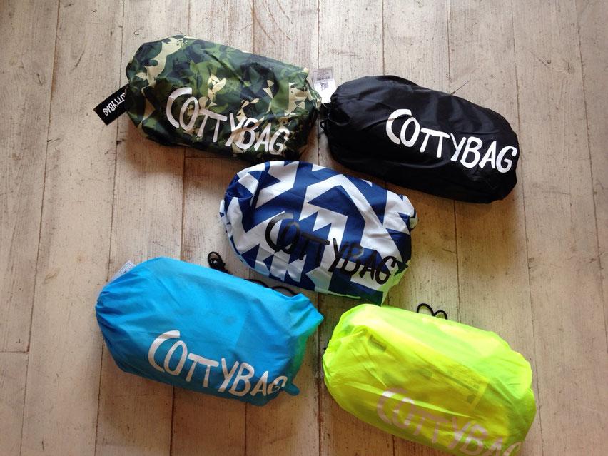 COTTY BAG(コッティバッグ) 各¥8,000(+TAX)