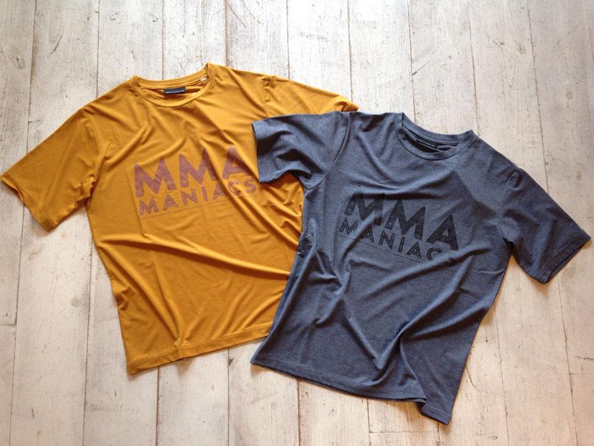 Mountain Martial Arts(マウンテンマーシャルアーツ)MANIACS Tee 各¥6,264(税込)