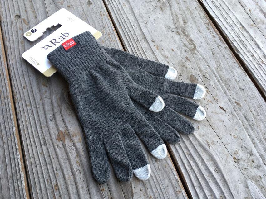Rab(ラブ)Plimaloft Glove ¥3,780(税込)