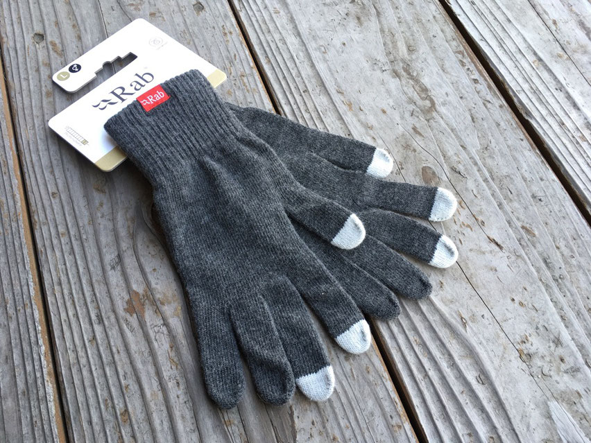 Rab(ラブ)Plimaloft Glove ¥3,600(+TAX)