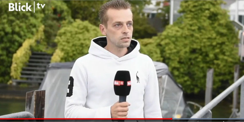 Simone im Interview mit Blick TV. Bild: Video-Screenshot