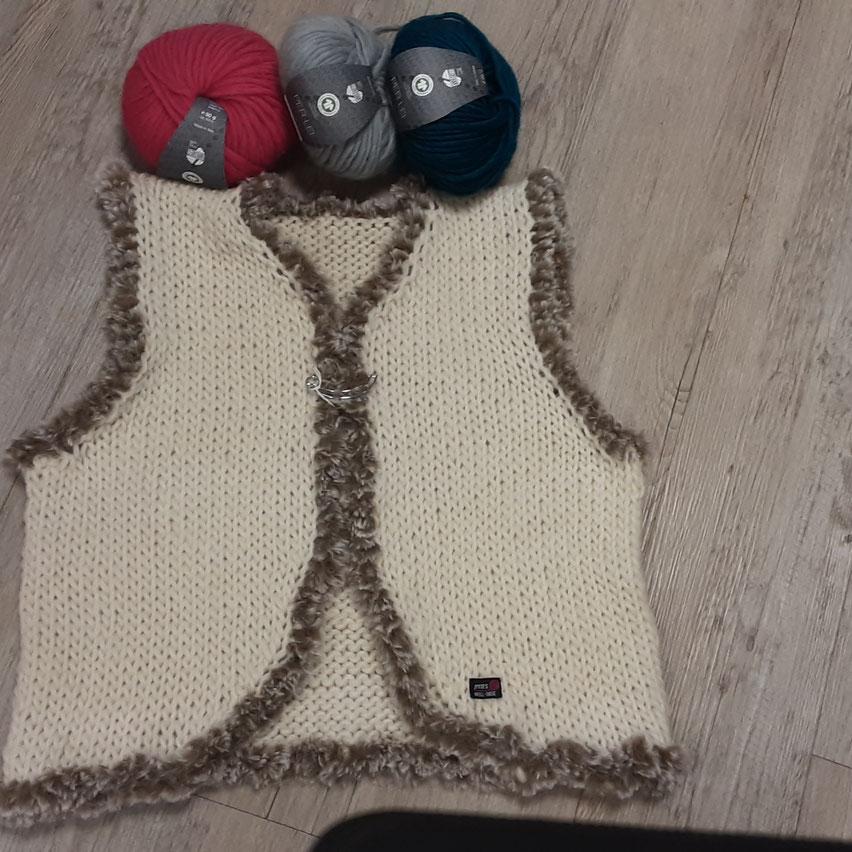 Wolle von Lana Grossa  und Lang Yarn