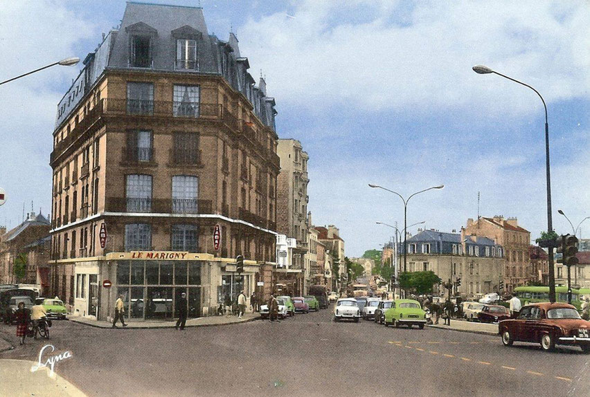 """Le café """"Le Marigny"""" à Maisons-Laffitte"""
