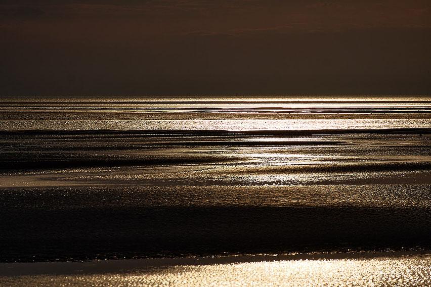 Mathieu Guillochon, photographe, rivages, couleurs, mer, Manche, Le Vey, domaine de Beauguillot, Utah Beach, estuaire, Cotentin, Normandieube, calme, violet.