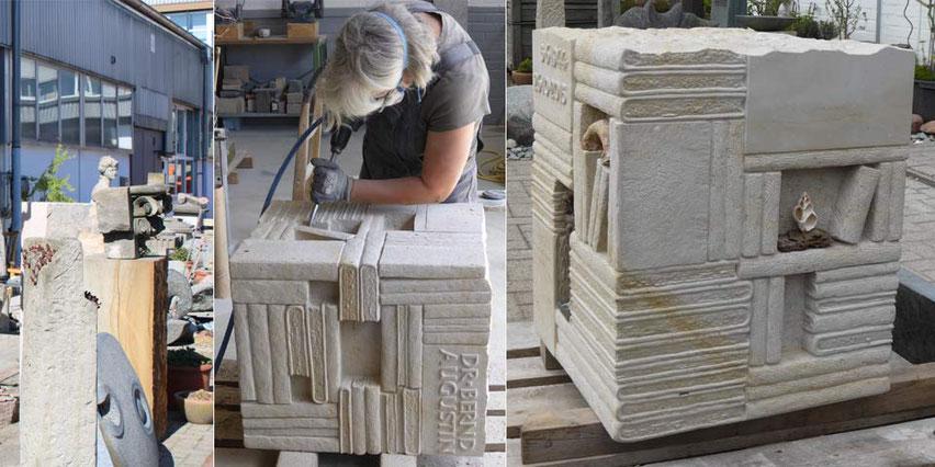 Katja Stelljes Grabmale Steinmetzin Bildhauerei