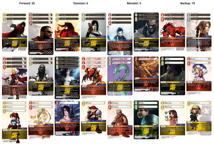 Deck von Tetrismelodie in Woche 3 (Archetype Format) - Archetype: AVALANCHE