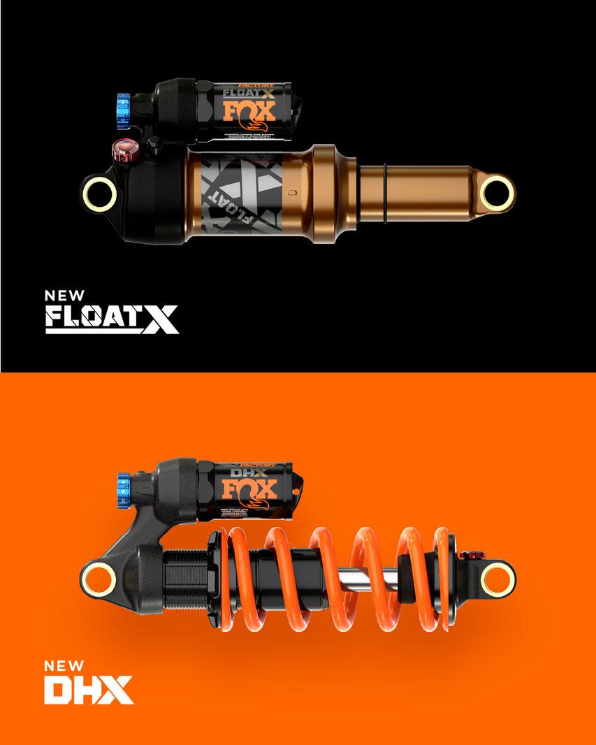 DHX und Float X Dämpfer im Vergleich