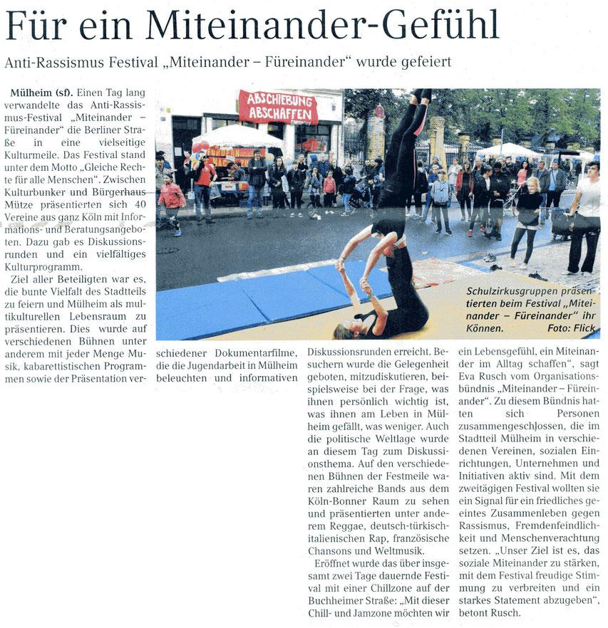 Kölner Wochenspiegel 19. Juli 2017
