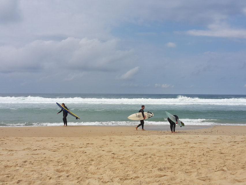 Surfspot St.Girons Plage in Frankreich