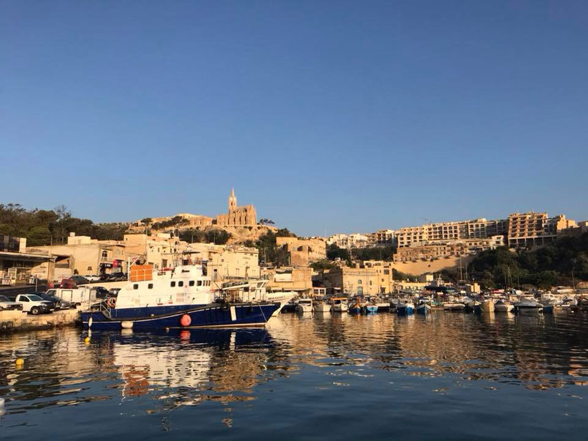 Retreat, Gozo, Auszeit, visit Malta, visit Gozo, Yoga, Mina Moonlight, Malta, Gozo harbour, Benitaljo, vegan