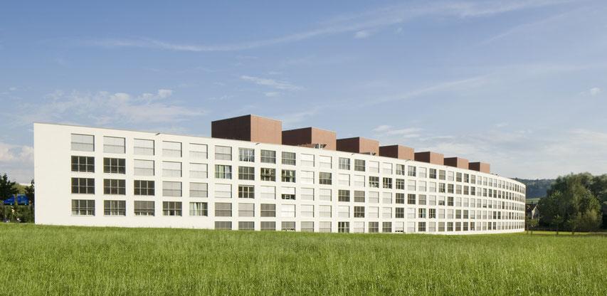 Zwicky Areal Wallisellen, Schneider Studer Primas Architekten Architekturfotografie
