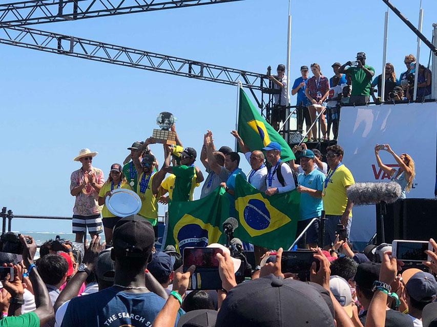 ゴールドメダルはブラジル!!