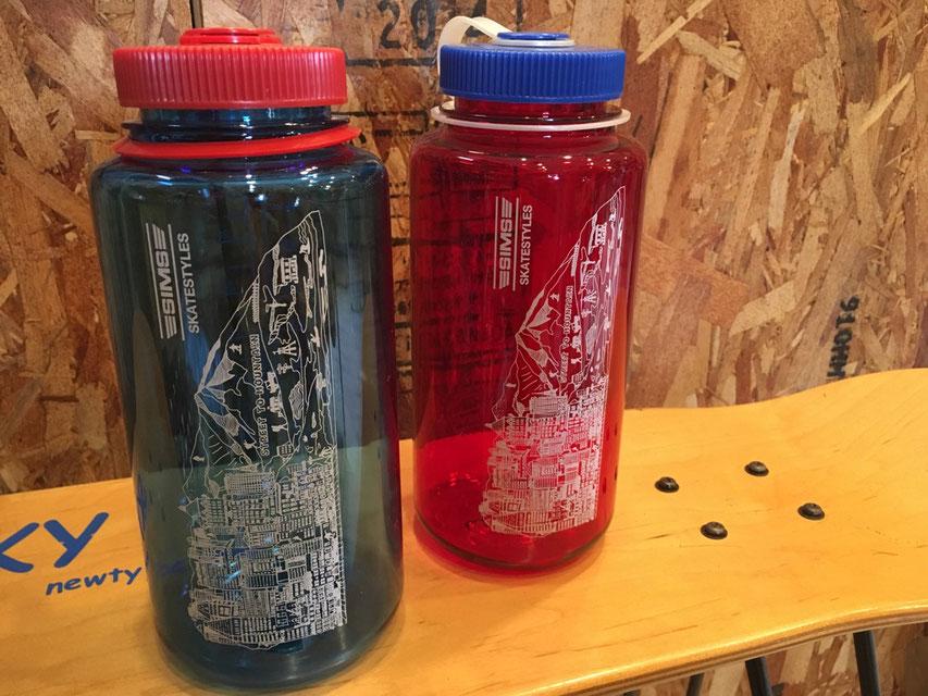 SIMS SKATE STYLES(シムススケートスタイル) NALGEN×SSS 32oz Wide Mouth Bottle 各¥4,104(税込)