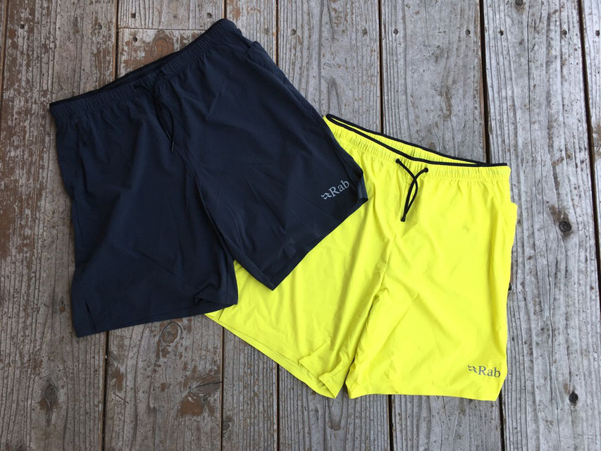 Rab(ラブ) Talus Shorts 各¥8,000(+TAX)
