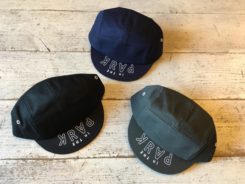 THE PARK SHOP(ザ・パークショップ) CYCLEBOY CAP 各¥3,700(+TAX)
