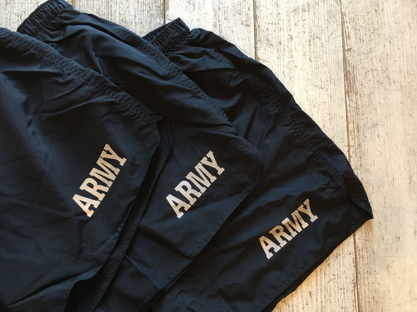 SOFFE MILITARY(ソフィ―ミリタリー) ARMY Training Short ¥3,900(+TAX)