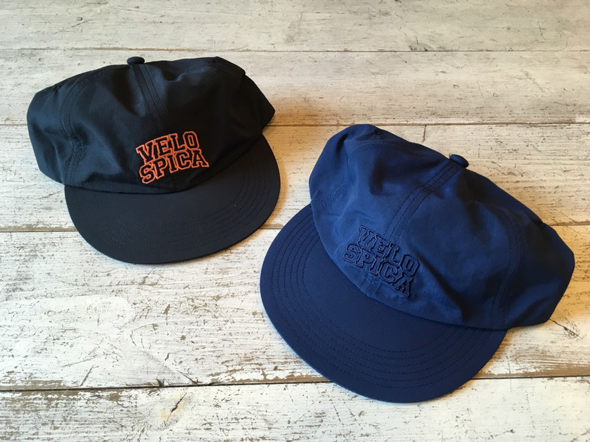 "velo spica(ヴェロスピカ) Flip Up B Cap ""SUPPLEX"" 各5,900(+TAX)"