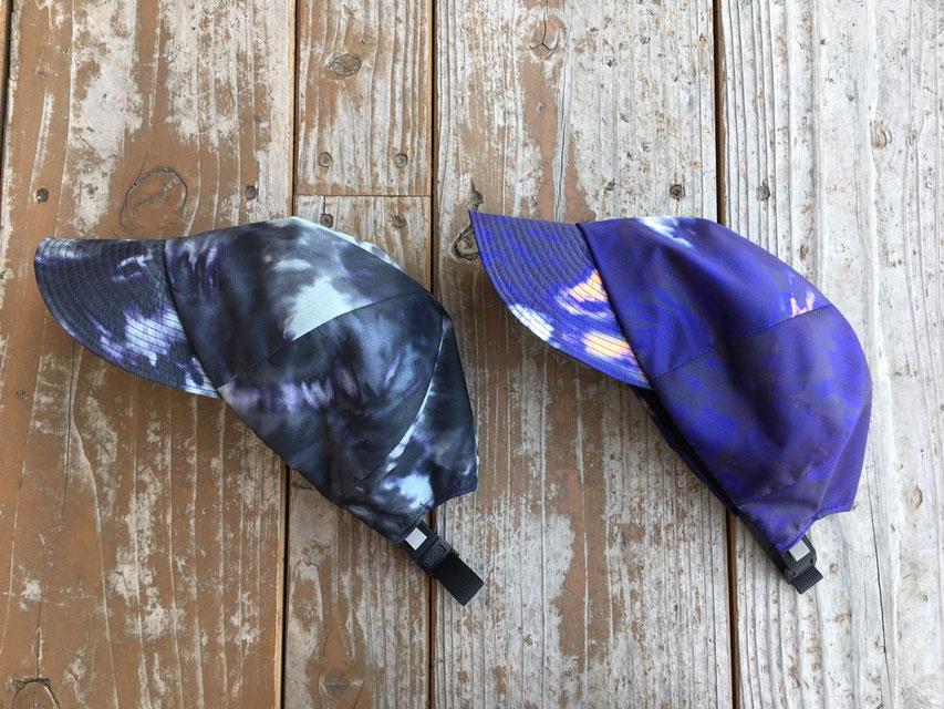 (左)TD Black  (右)TD Purple ※柄パターンはそれぞれ違いますのでご了承ください。