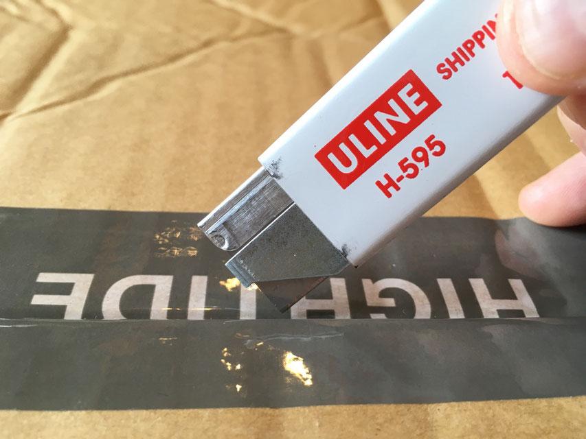 ULINE(ユーライン) エコノミーカッター 各¥280(+TAX)