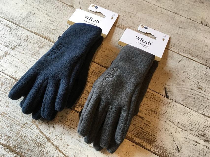 Rab(ラブ) Longitude Glove 各¥3,800(+TAX)