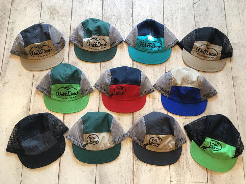welldone(ウェルダン) JET CAP(STANDARD) 各¥4,104(税込)