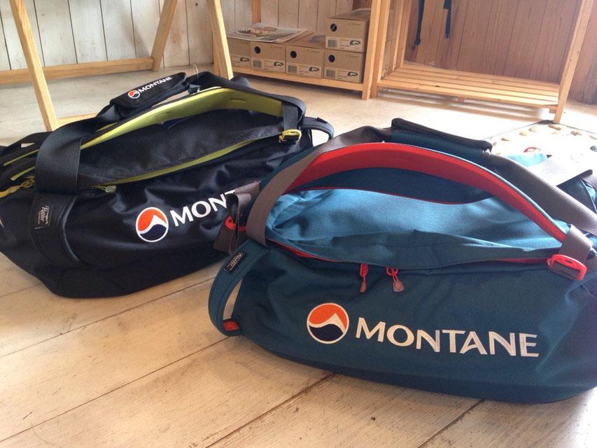MONTANE(モンテイン)TRANSITION 35 KIT BAG 各¥11,880(税込)