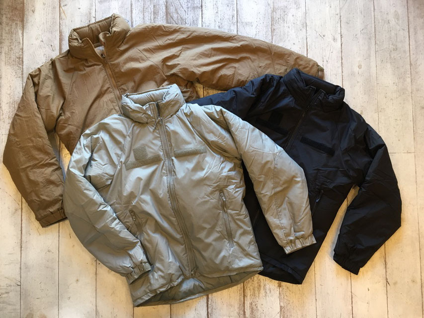 US MILITARY 19's LEVEL 7 ECWCS PRIMALOFT JACKET  各¥38,000~¥42,000(+TAX)