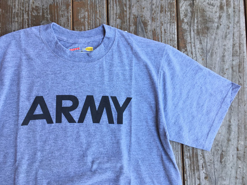 SOFFE MILITARY(ソフィ― ミリタリー) ARMY Dry Release SS Tee ¥3,800(+TAX)
