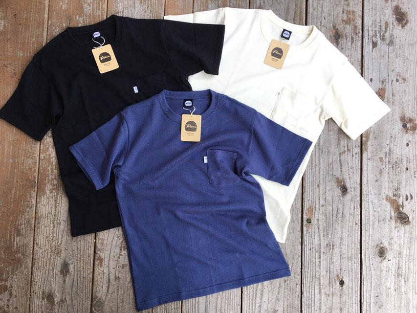 Yetina(イエティナ) Heavy Weight Cotton Pocket T-Shirt ¥7,000(+TAX)